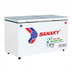 Tủ Đông Sanaky Inverter VH-2899W4K (2 Ngăn Đông, Mát 280 Lít Màu Xám)