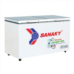 Tủ Đông Sanaky Mặt Kính Inverter VH-2599A4K (1 Chế Độ 250L Màu Xám)